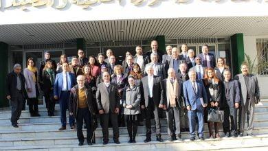 صورة افتتاح الملتقى السنوي حول التقرير القطاعي للمياه