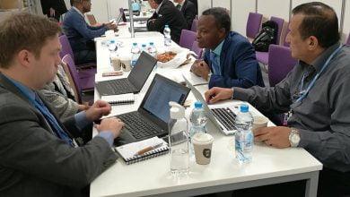 صورة في المؤتمر 24: تونس  تنظر في إجراءات إعادة اعتماد مرصد الصحراء
