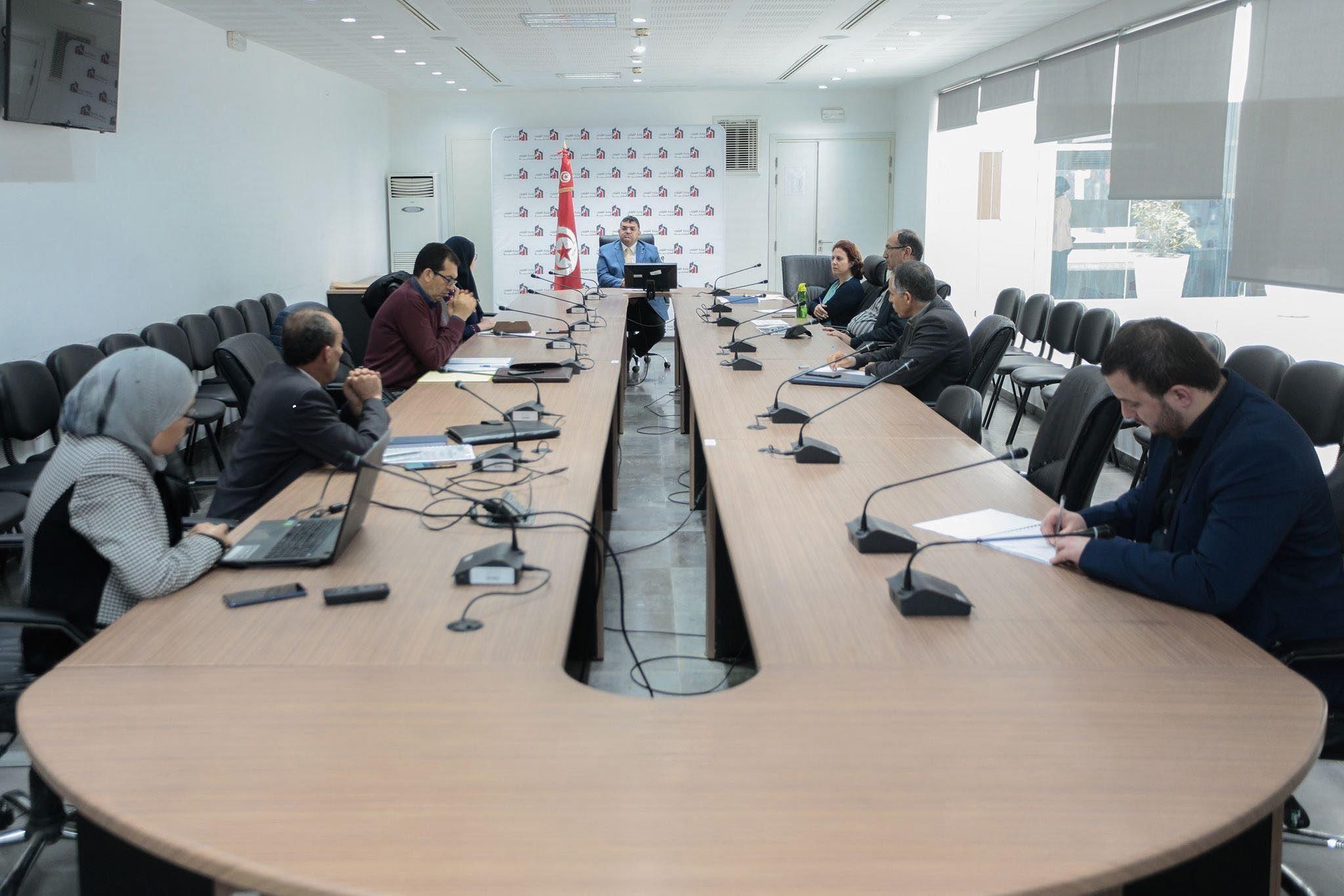 صورة جلسة عمل الخلية القارة لمتابعة تنفيذ الخطة الوطنية لمقاومة الحشرات