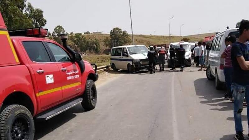 صورة جندوبة: حادث اليم ينهي حياة شخصين واصابة 5 اخرين