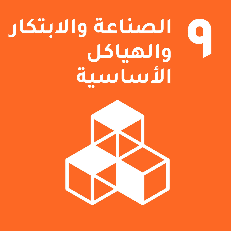 الهدف  9: البنية الأساسية