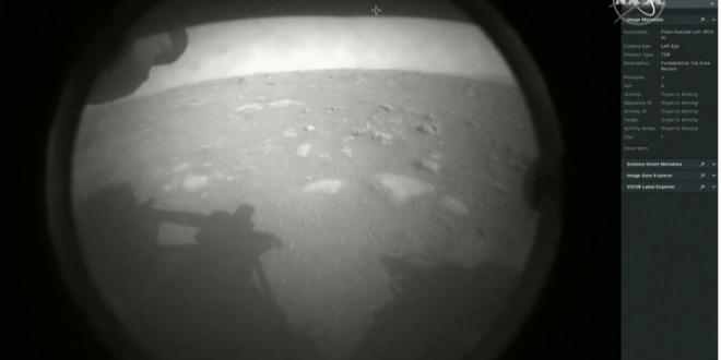 أول صورة من المريخ