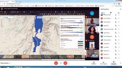صورة نقاش أدوات الصحافة البيئية في ظل تزايد التحديات العالمية