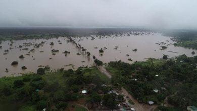 """صورة الموزمبيق :  في الذكرى السنوية الثانية لإعصار إيداي """" التغيرات المناخية تهدد إفريقيا"""