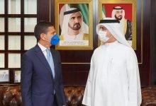 """صورة """"المنظمة العالمية للاقتصاد الأخضر"""" تبحث مع """"الاتحاد الإيطالي  لشركات الخدمات البيئية"""" سبل تعزيزالاقتصاد الدائري في الإمارات"""