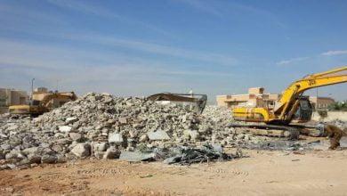 صورة نقل وردم نفايات البناء والهدم يكلف 10 ملايين دينار سنويا