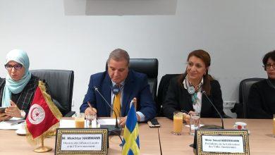 صورة تنفيذ مشروع دعم الحوكمة المحلية مع المنظمة السويدية