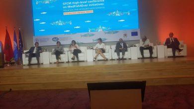 صورة كاتب الدولة المكلف بالموارد المائية والصيد البحري  يشارك في المؤتمر الدولي بمراكش