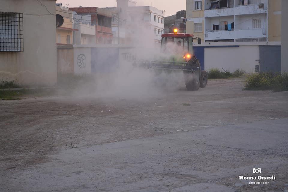 صورة ولاية بنزرت: انطلاق عمليات التعقيم