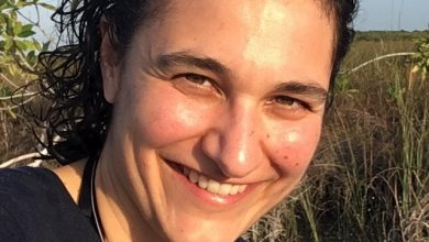 """Photo of Farah Obaidullah, An Independent Ocean Advocate, Consultant and the Founder of Women4Oceans: """"pushing for protected areas at sea, is my purpose"""""""""""