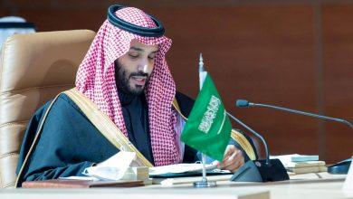 """صورة ولي العهد السعودي يعلن : """"السعودية الخضراء"""" و"""" الشرق الأوسط الأخضر"""" لمواجهة تغير المناخ"""